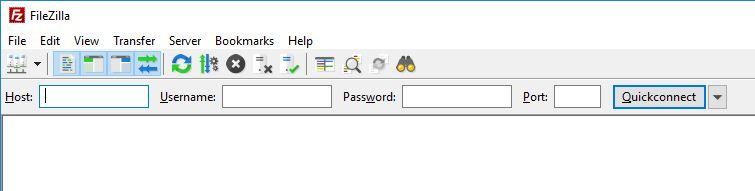 Accessing FTP / FTPS / FTP over Explicit TLS via FileZilla